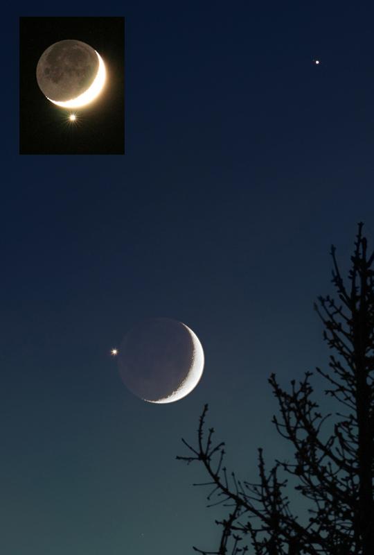 Vénus dans la Lune