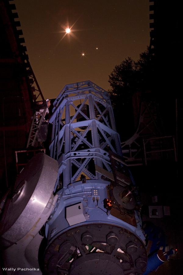 Le réflecteur de 1,5m du Mont Wilson