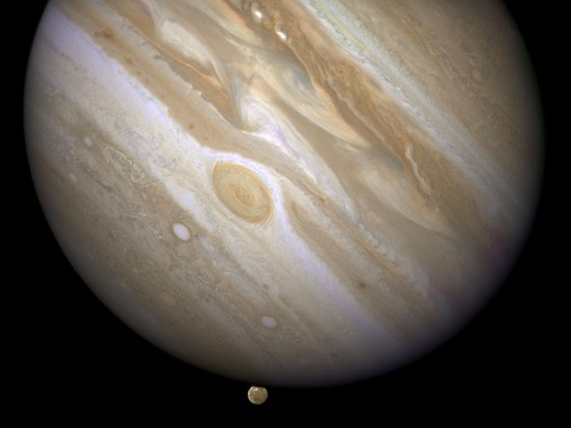 Quand Jupiter éclipse Ganymède