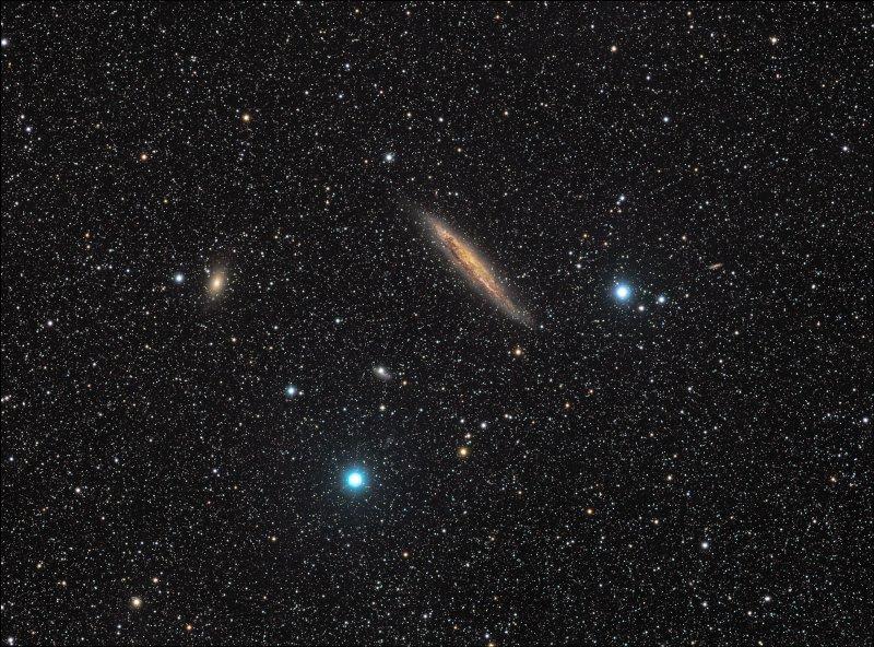 NGC 4945, une tranche de galaxie dans le Centaure