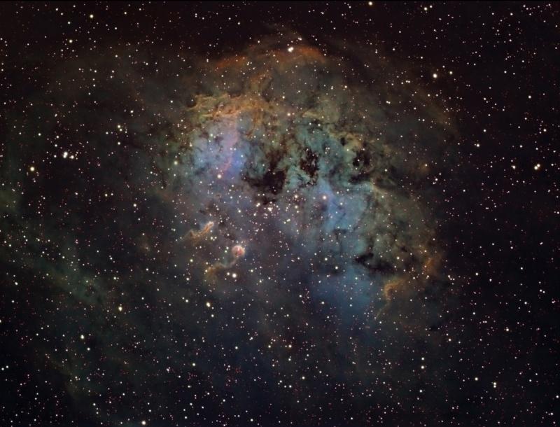 IC 410 et NGC 1893