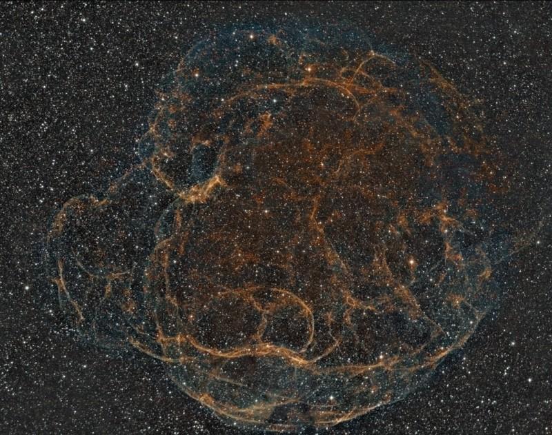 Simeis 147, tout ce qui reste d\'une supernova