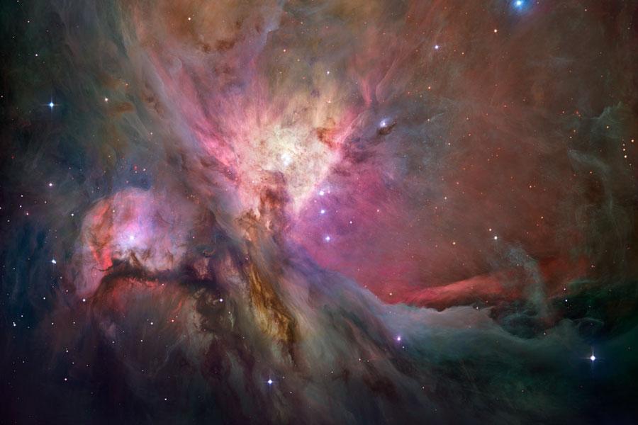 La nébuleuse d\'Orion en haute définition