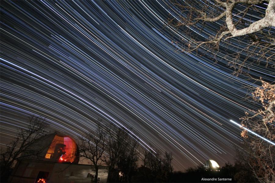 Filé d\'étoiles en Haute Provence