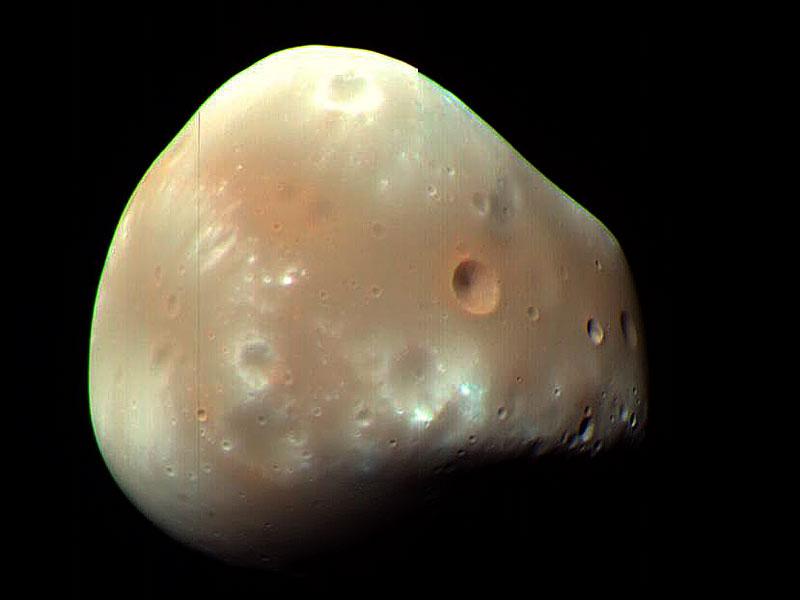Deimos, petite lune de Mars