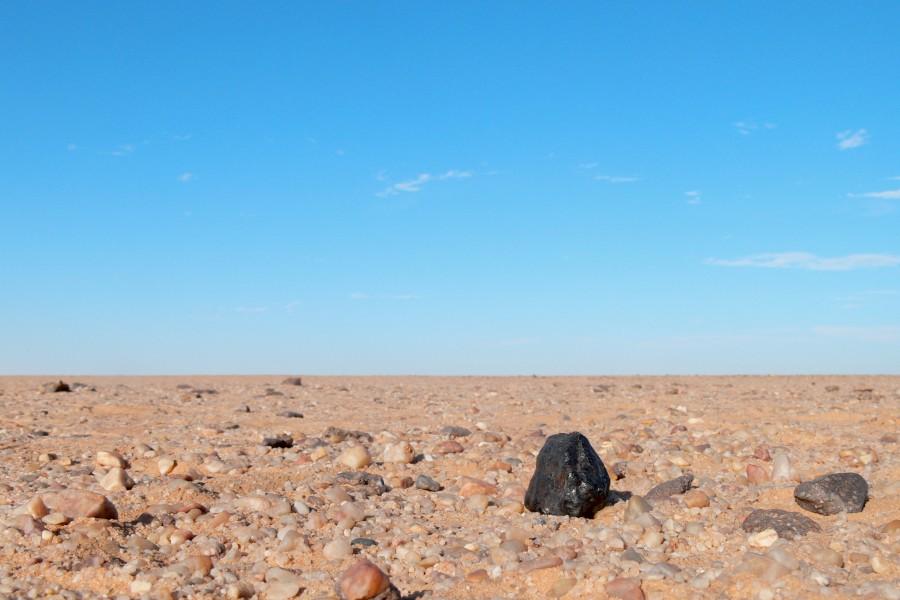 Almahata Sitta 15, une météorite dans le désert