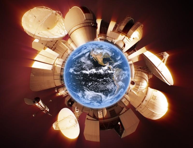 Le Tour du Monde en 80 télescopes