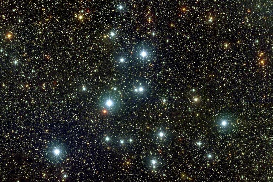L\'amas ouvert M39 dans le Cygne