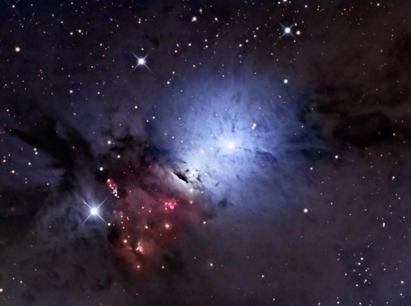 La poussière d'étoile de NGC 1333
