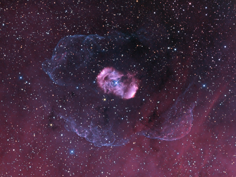 Un halo pour NGC 6164