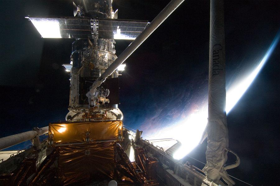 Atelier de réparation en orbite