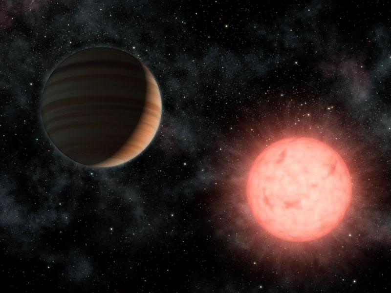 VB 10, une grande planète autour d'une petite étoile