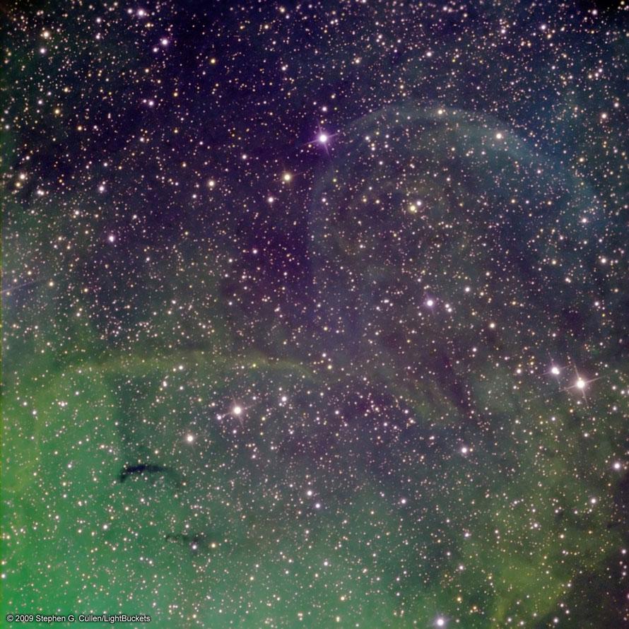 Possibles ondes de choc de jet près du microquasar Cygnus X-1