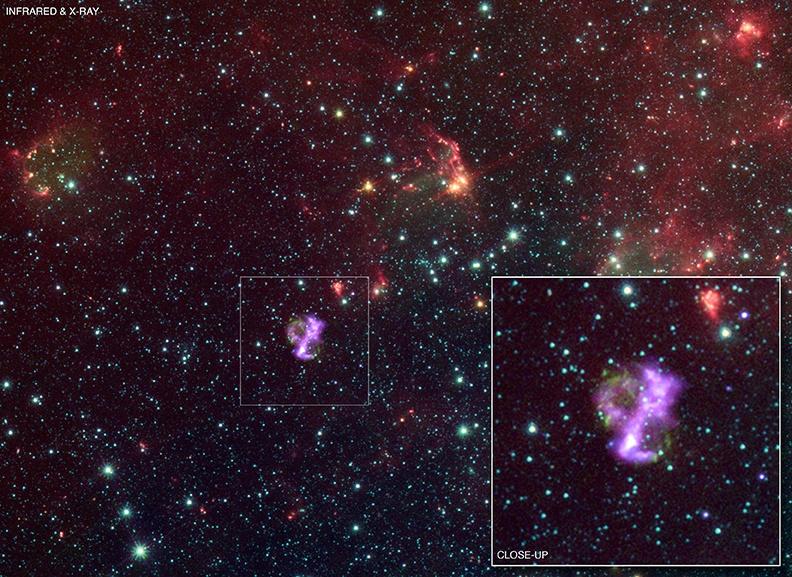 SNR 0104, un rémanent de supernova pas comme les autres