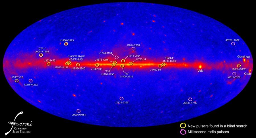 Les pulsars gamma de Fermi