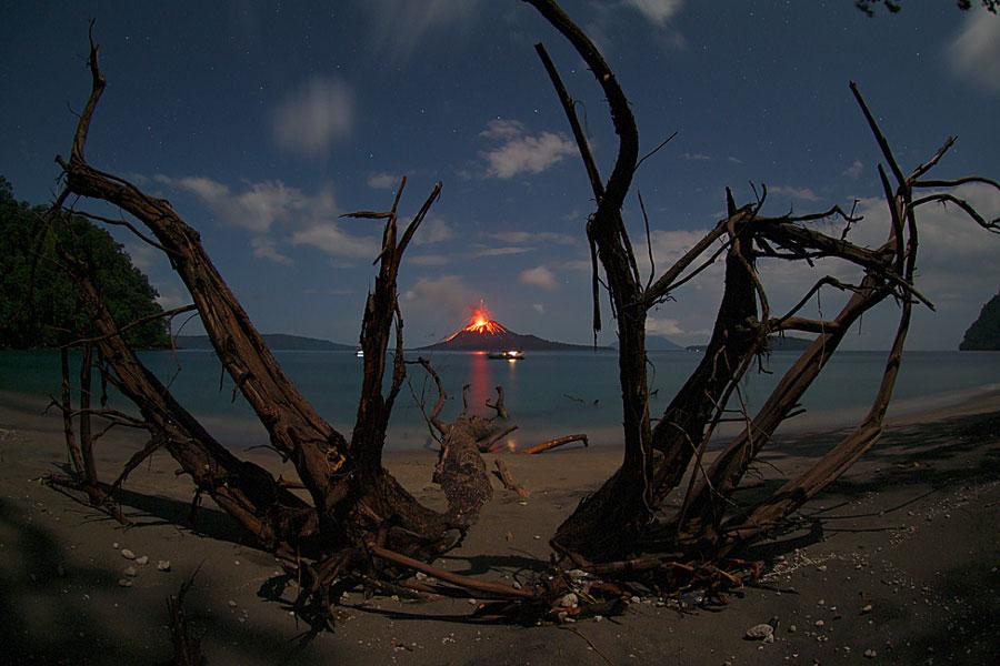 L\'enfant du Krakatoa ne veut pas dormir