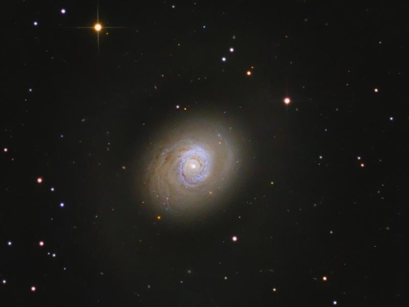 Les flambées d\'étoiles de M94
