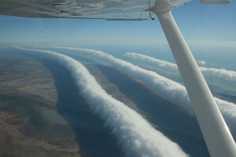 Gloires du matin au dessus de l\'Australie