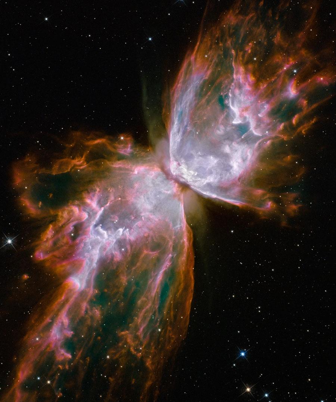 Hubble porte un nouveau regard sur la nébuleuse du Papillon