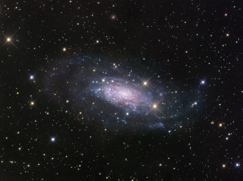 NGC 3621, bien au-delà du Groupe Local