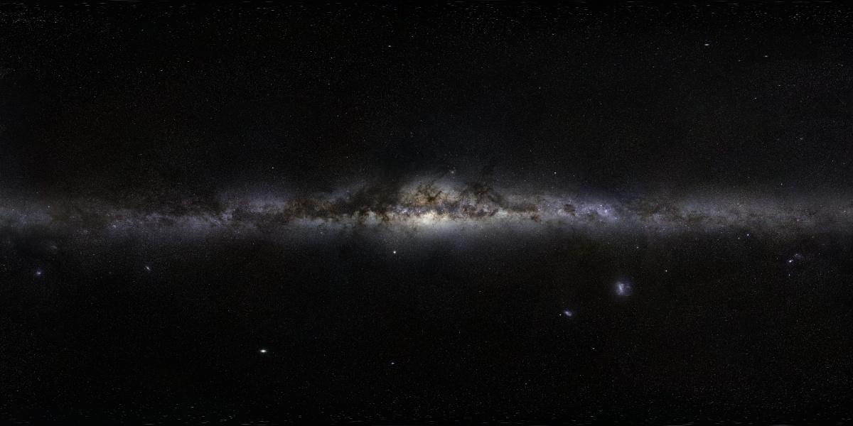 La Voie lactée à 800 millions de pixels
