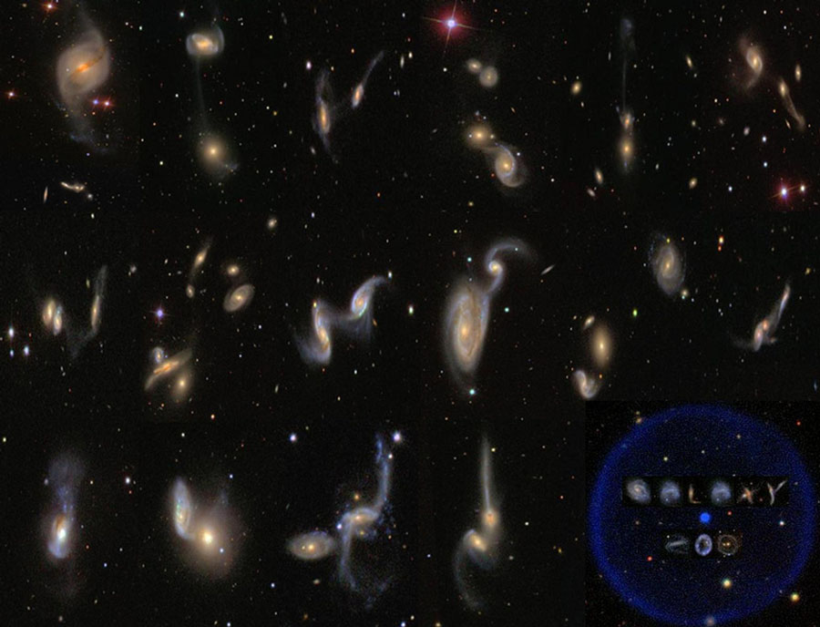 Le projet Galaxy Zoo catalogue l'Univers