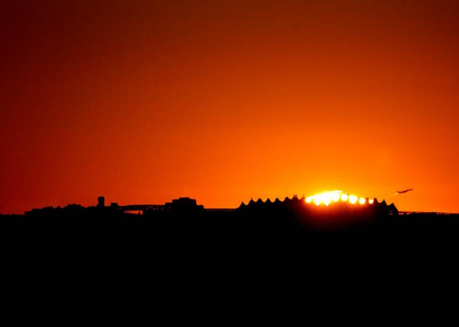 Lever de Soleil sur Denver