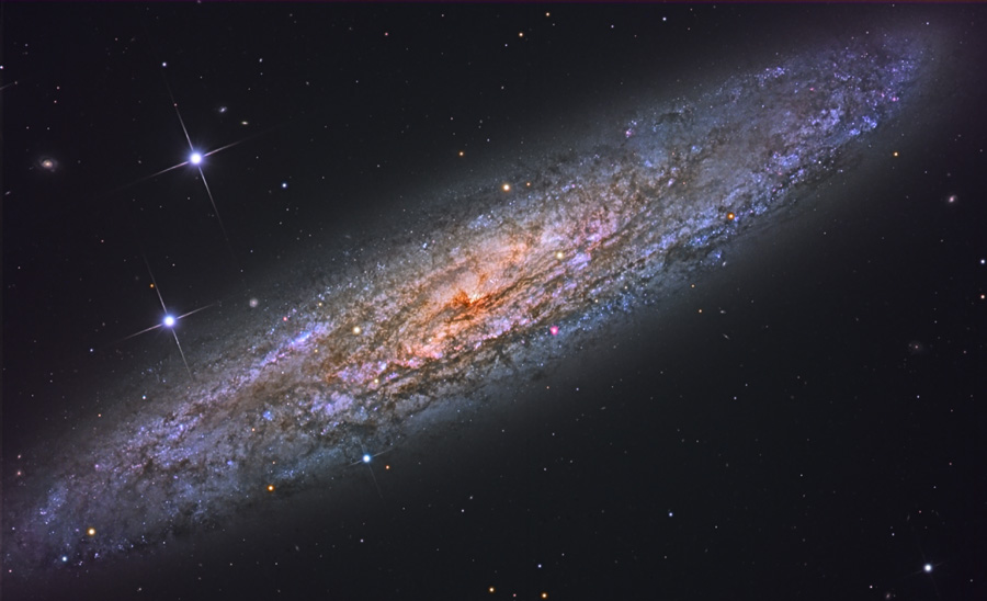 NGC 253, la galaxie à un Dollar