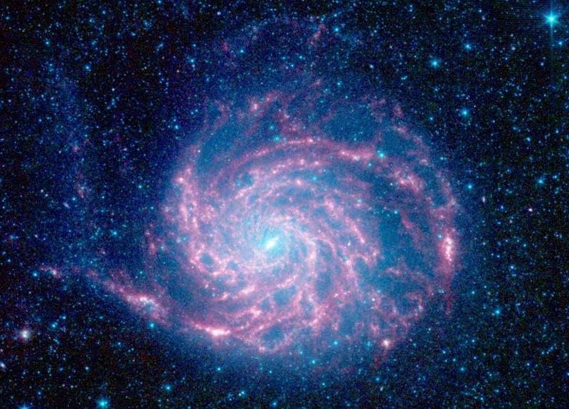 M 101 par Spitzer