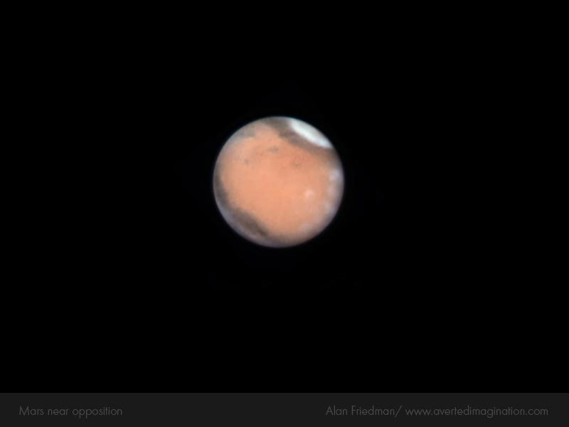 Ce soir, Mars est en opposition