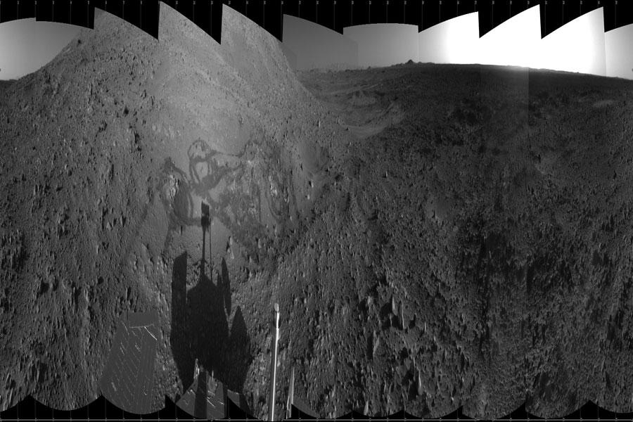 Art brut sur Mars