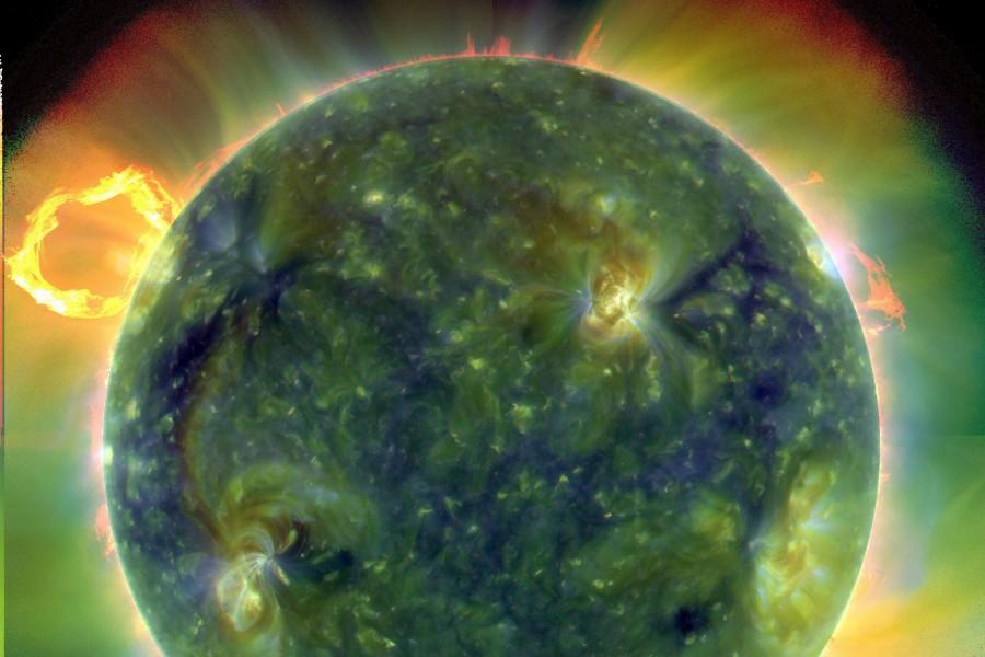 Le Soleil en ultraviolet extrême