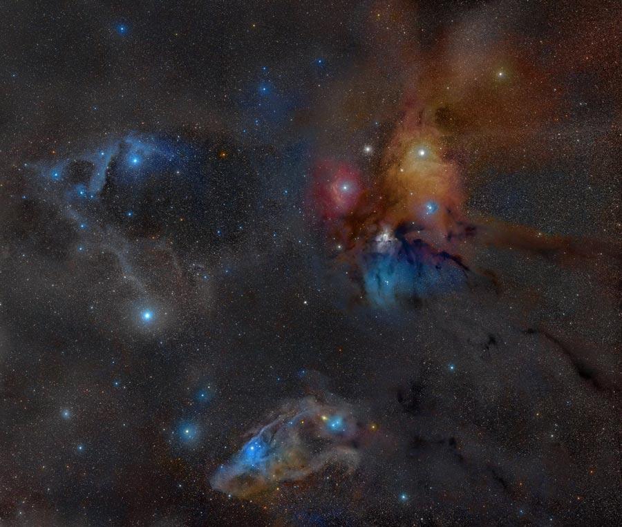 Dans les parages de Rho Ophiucus