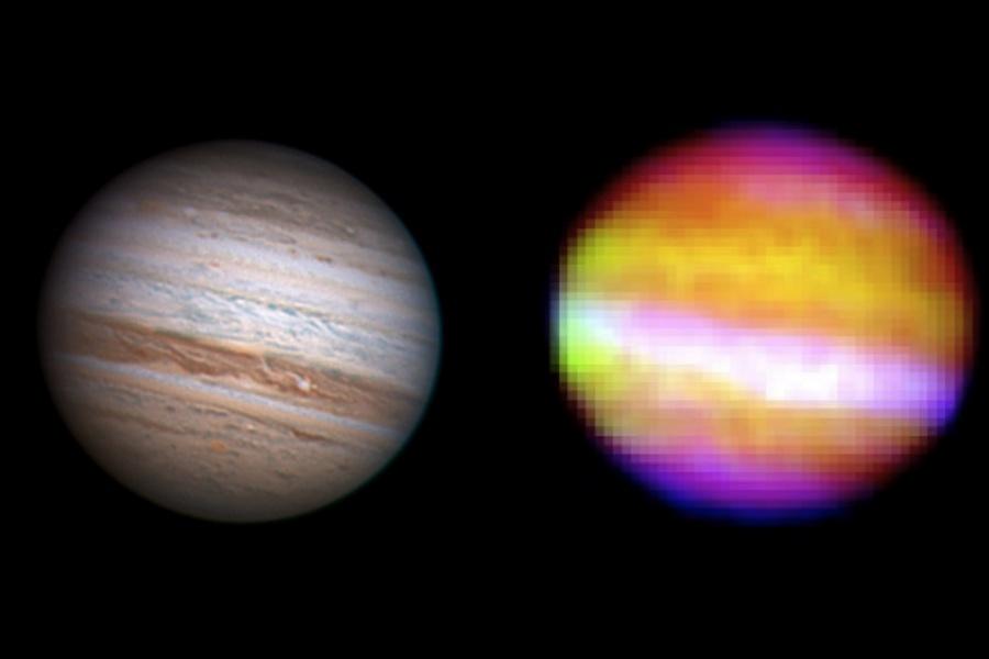 Jupiter depuis la stratosphère