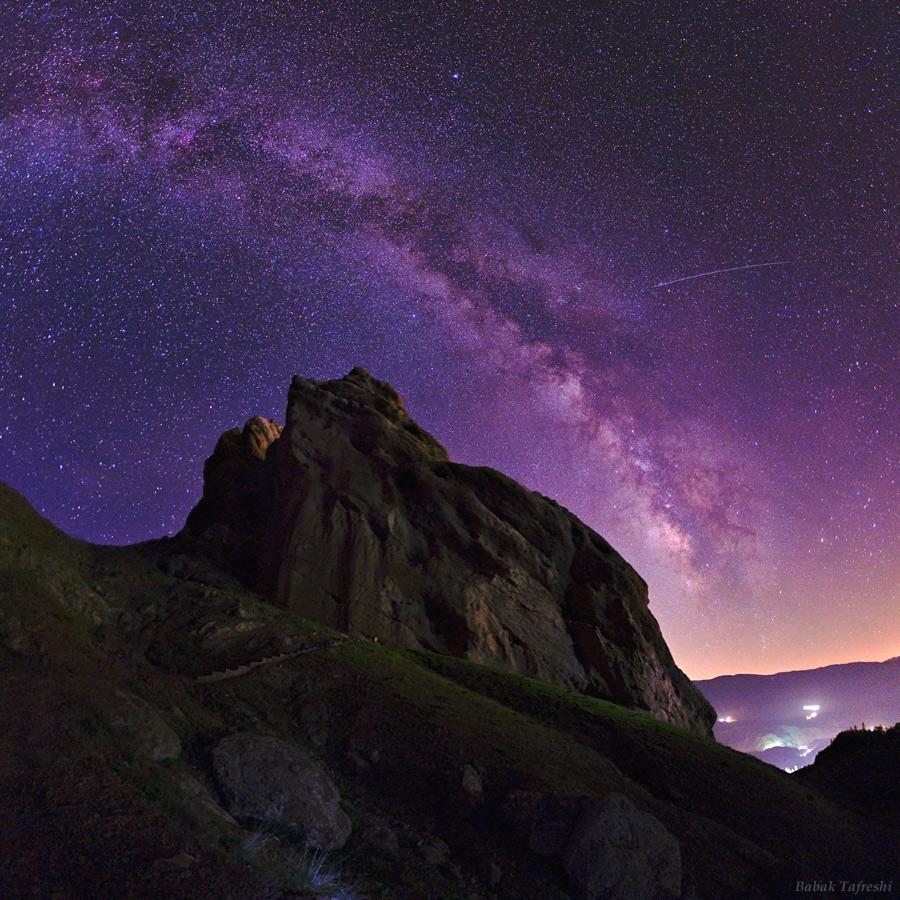 Une nuit étoilée sur l\'Alamut
