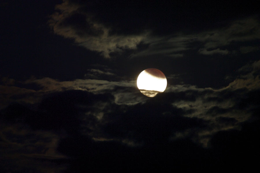 Eclipse partielle de Lune