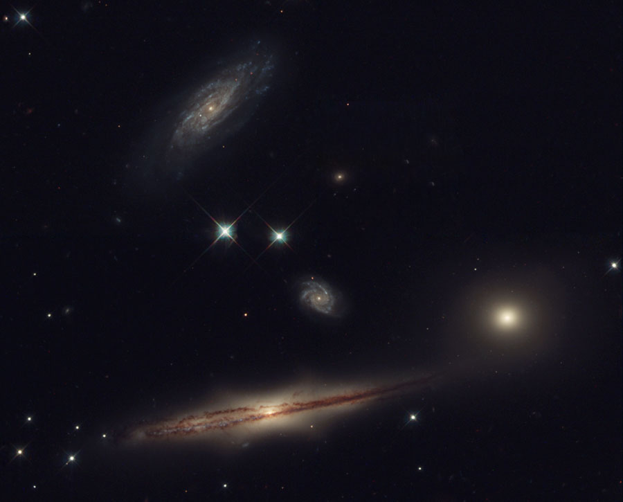 HCG 87, petit groupe de galaxies