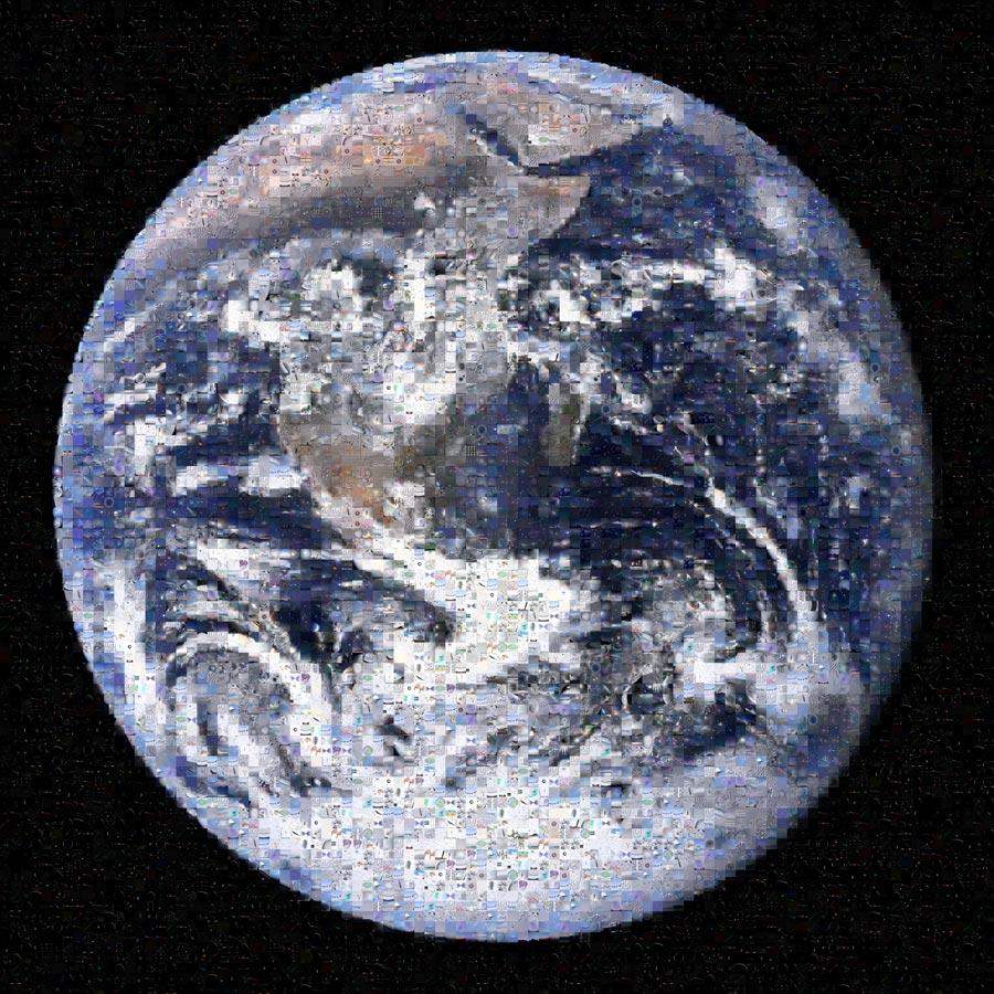Mosaïque terrestre