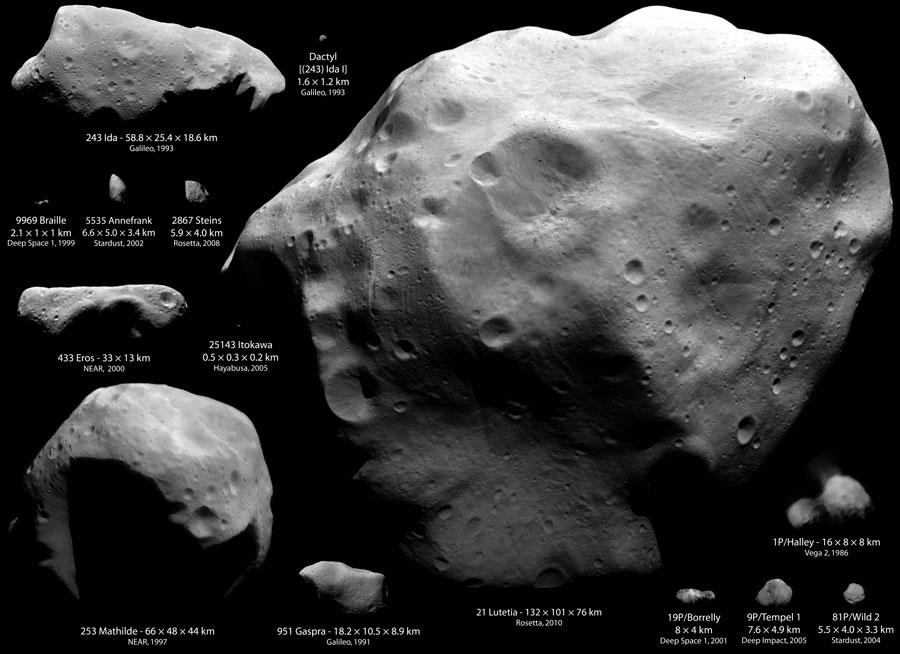 Lutetia, le plus grand astéroïde visité à ce jour