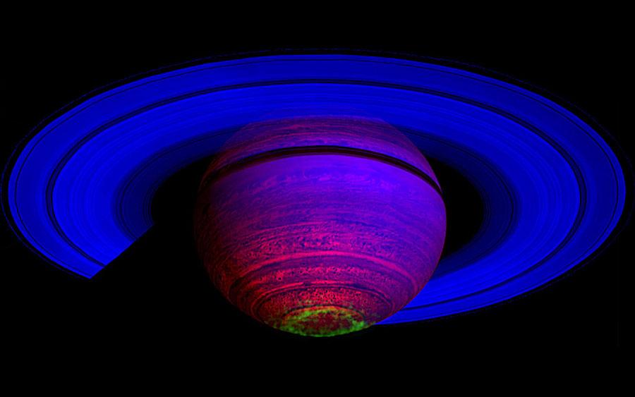 Les aurores dansantes de Saturne