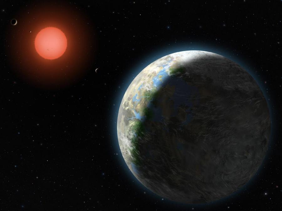 Gliese 581g, monde de Zarmina