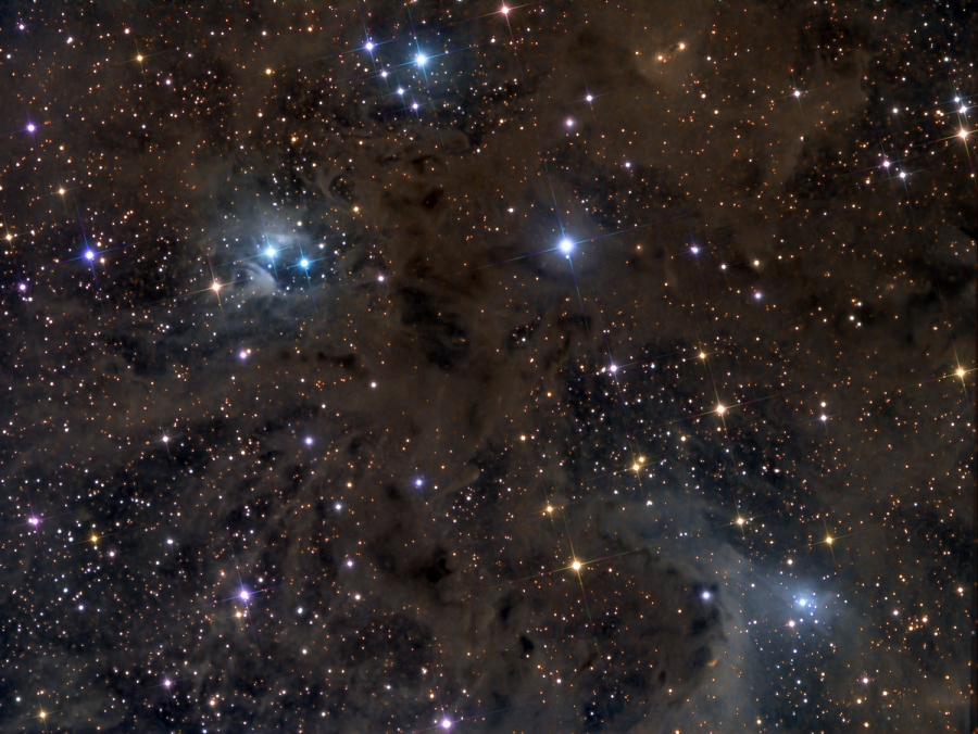 Poussière d'étoiles dans le Bélier