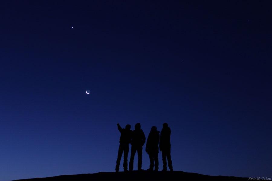 Une nuit propice à l'observation du ciel
