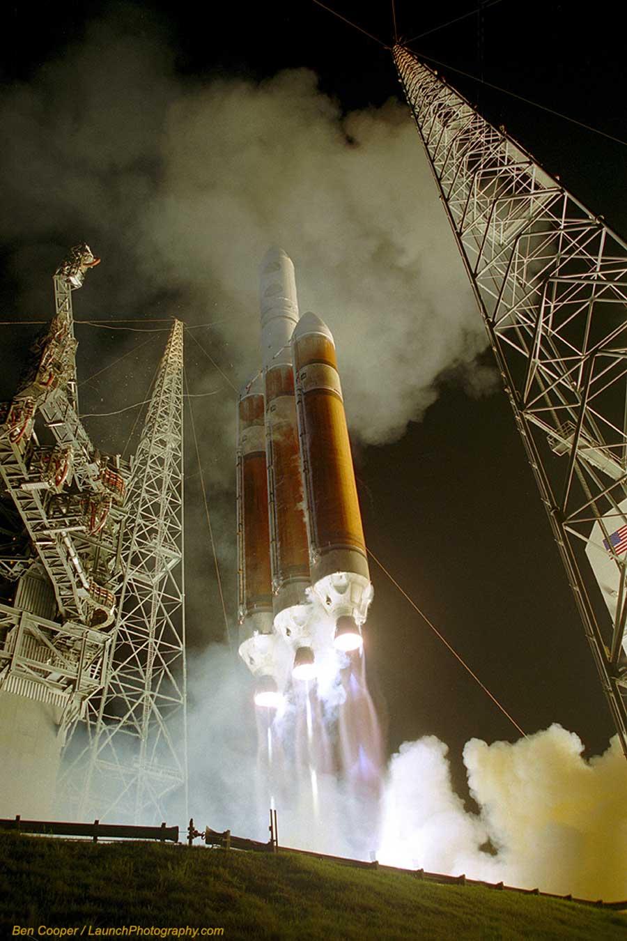 Un lancement de Delta IV \