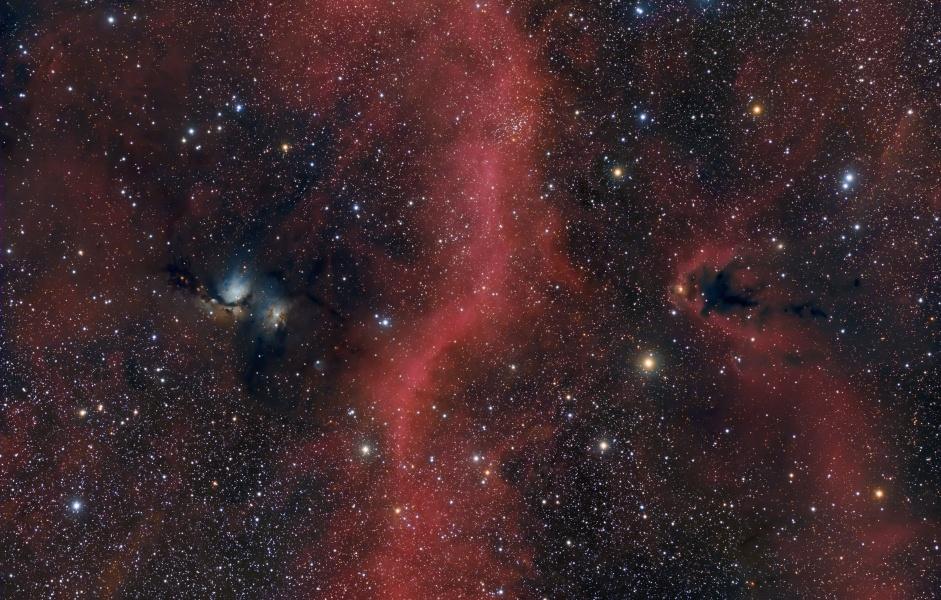 Au nord de la ceinture d\'Orion