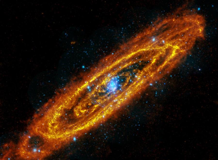 Les étoiles passées et futures d'Andromède