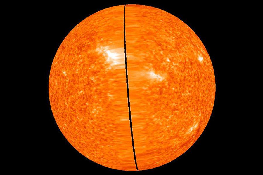 Le Soleil sous vidéosurveillance permanente