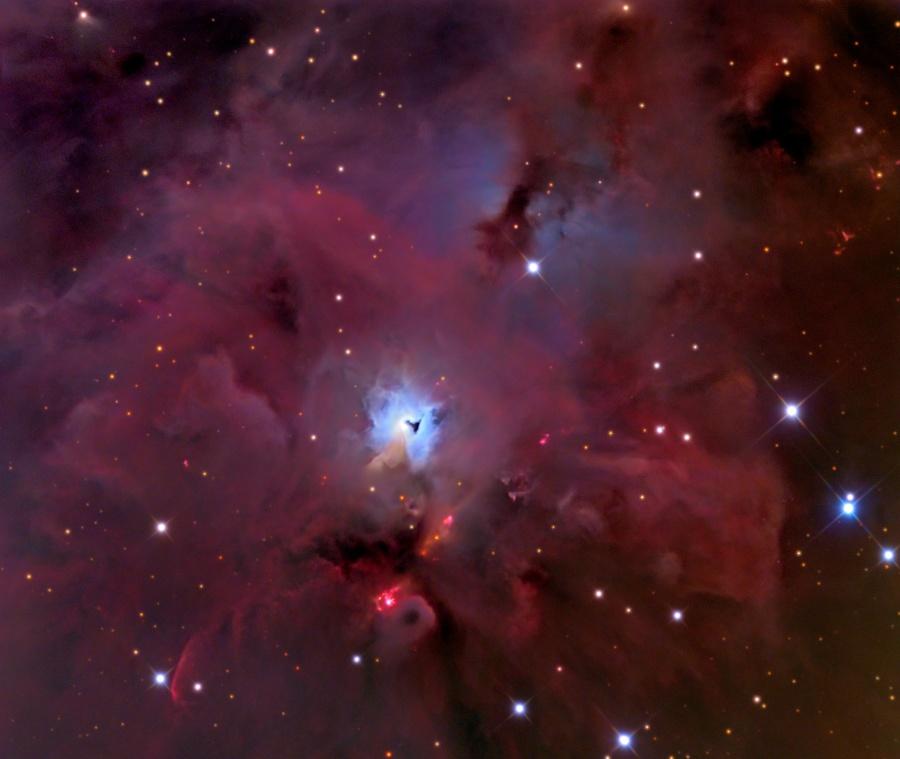 Au sud d'Orion
