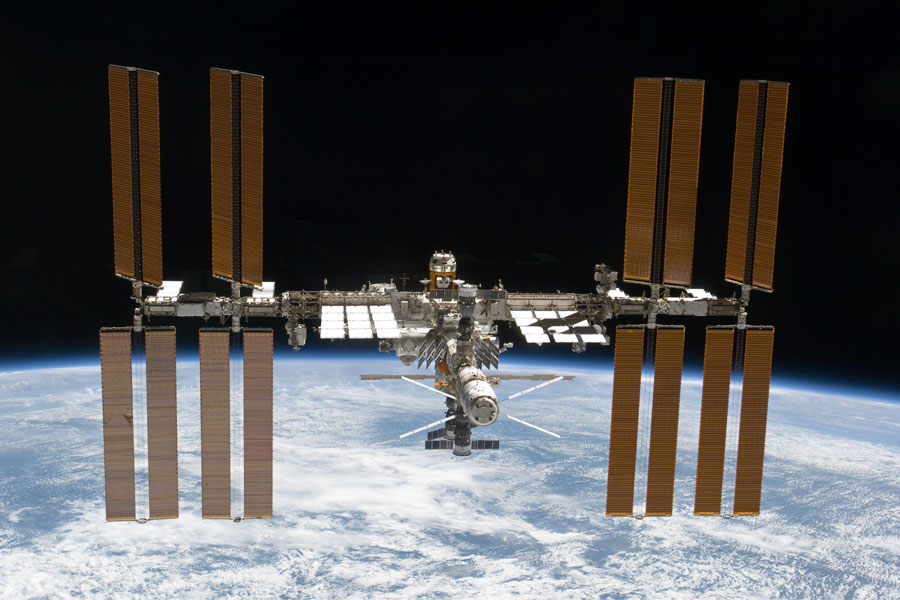 La Station spatiale internationale a encore grandi