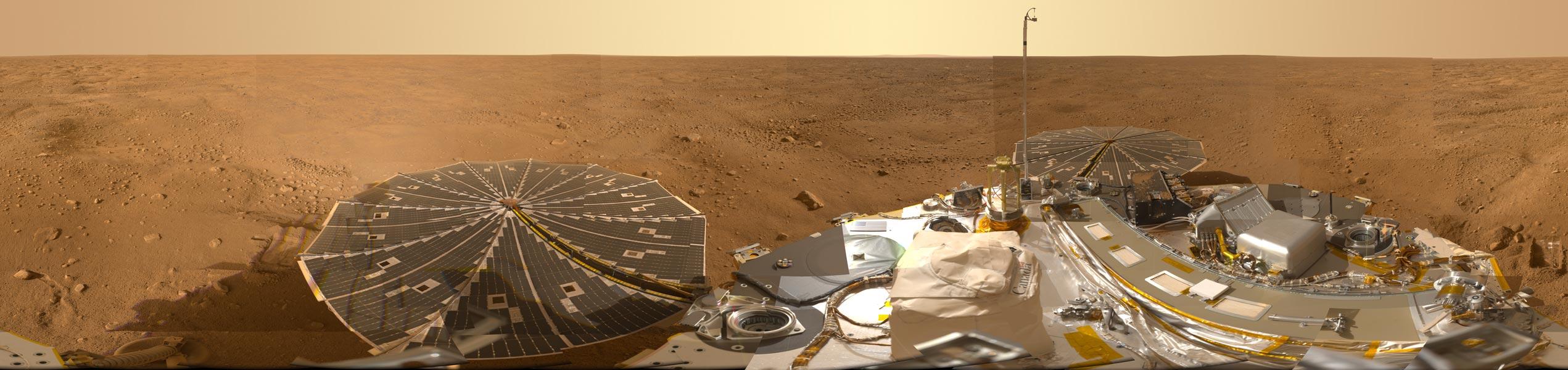 Le tour d\'horizon martien de Phoenix